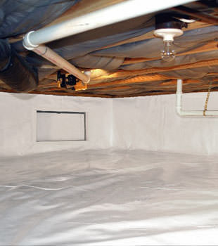crawl space repair system in Laurel