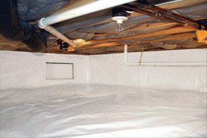 Crawl Space Repair After in Meridian