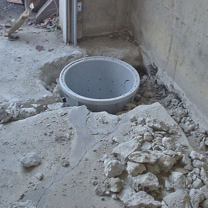 Placing A Sump Pit In Carthage Home
