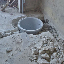 Placing a sump pit in a Carthage home
