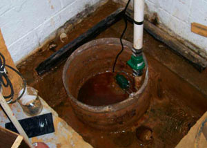 Extreme clogging and rust in a Yazoo City sump pump system